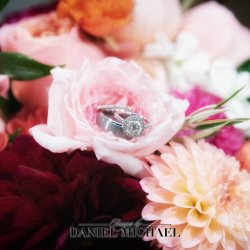 Wedding Flowers with Rings