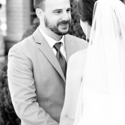 Groom's first look Photography