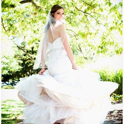 Wedding Photography Fun Bride in Dress