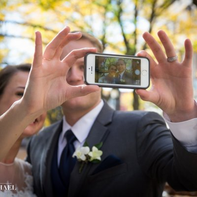 Wedding Photo Selfies Cincinnati