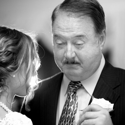 Father Daughter Crying Photo