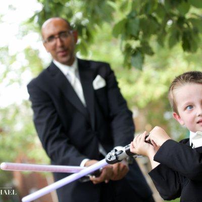 Wedding Light Saber Star Wars
