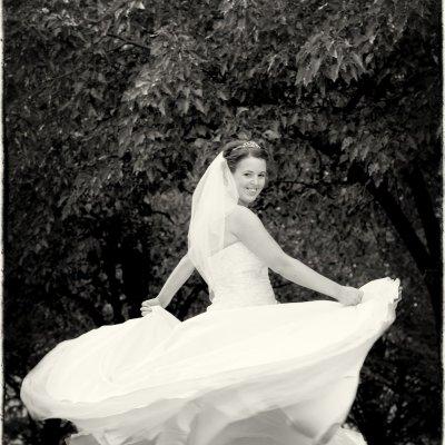 Fun Wedding Photography in Dress