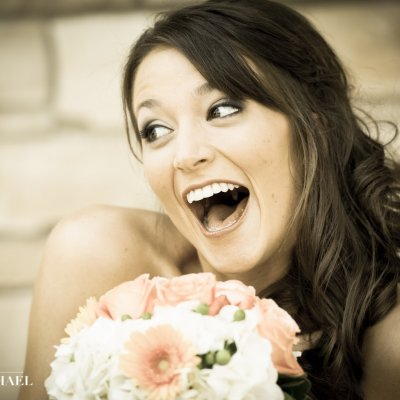 Fun Natural Wedding Photos