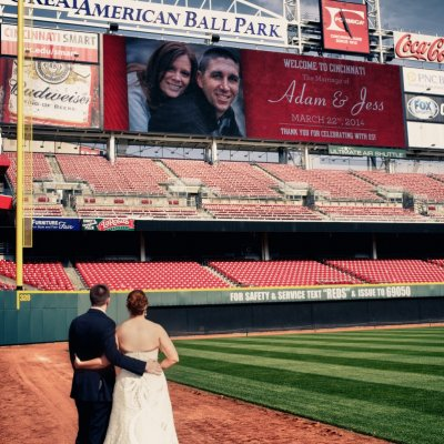 Wedding Photographers Great American Ballpark