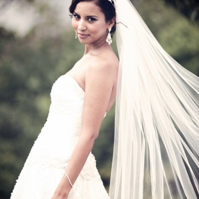 Wedding Photographers Long Veil