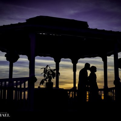 Wedding Photographers Gazebo Sunset