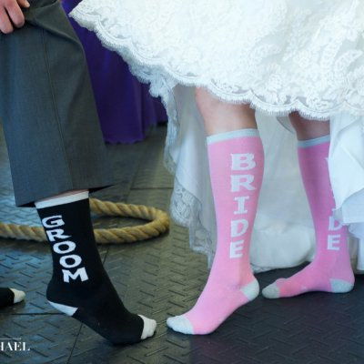 Bride and Groom Socks