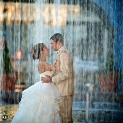 Wedding Photos at Smale Riverfront Park
