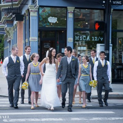 Wedding Party in OTR Cincinnati