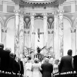 Church Wedding Ceremony Photography