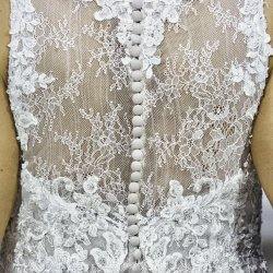 Back of Wedding Dress Detail