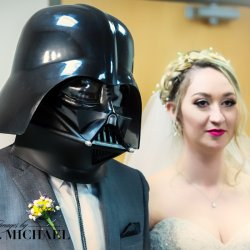 Darth Vader Wedding Photography