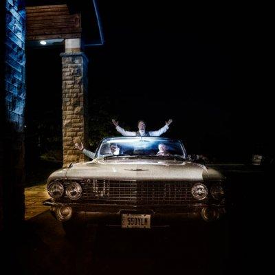 Getaway Car Wedding Photography