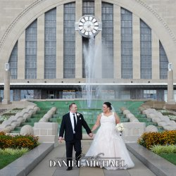 Cincinnati Museum Center Wedding Photography