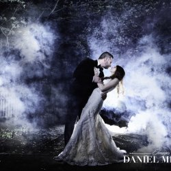 Wedding Photography with Smoke