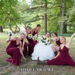 Fun Bridesmaids Photography