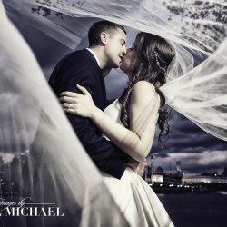 Long Veil Wedding Photography
