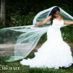 Long Veil Wedding Photographer