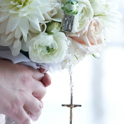 Bouquet with Cross