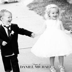 Wedding Party Kids Photo