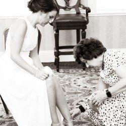 Getting Ready Wedding Photo