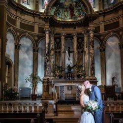 Catholic Church Wedding Photograph
