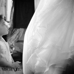 Flower Girl and Brides Dress