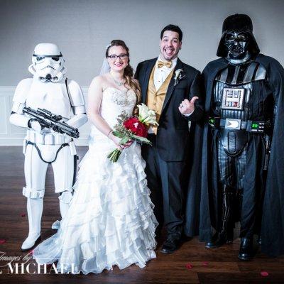Star Wars Wedding Photographers