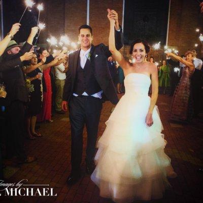 Sparkler Exit Wedding Photography