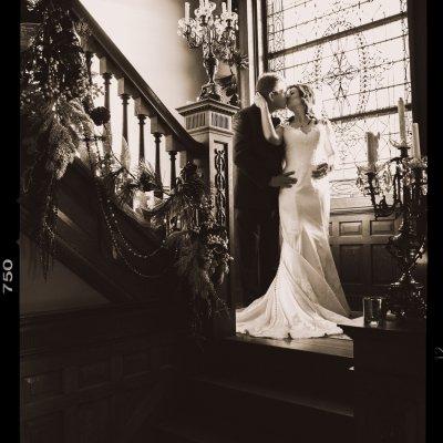wiedeman hill mansion, stain glass, newport, kentucky, wedding photography