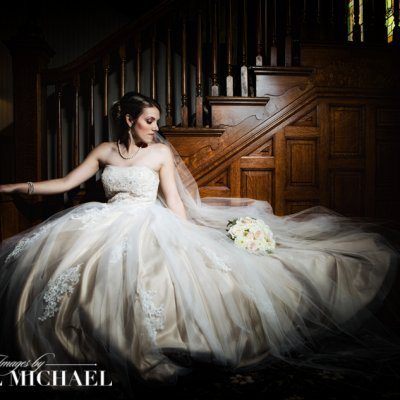 Bride Cincinnati Wedding Photography Dramatic