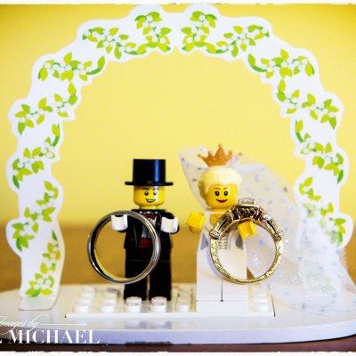 Lego Rings Cincinnati Photography