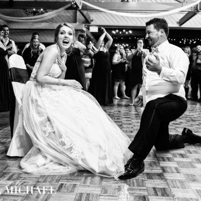 Reception Garter Cincinnati Wedding Photography