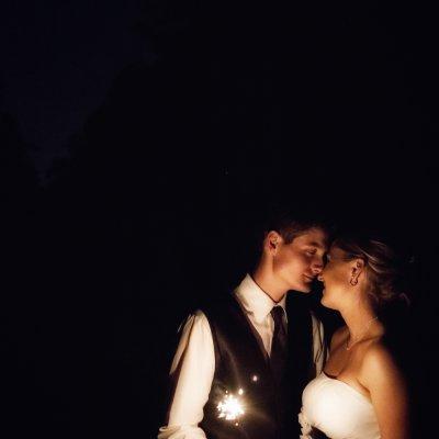 Wedding Sparkler Photographer
