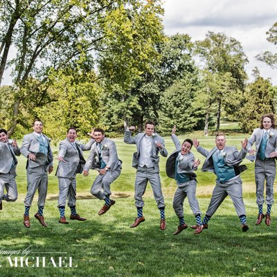 Cooper Creek, cincinnati wedding, photography, jumping