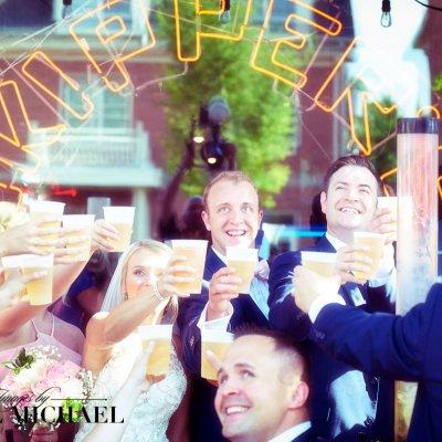 Wedding Part at Bar