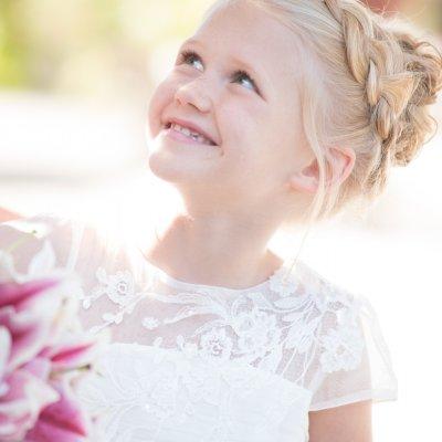 Flower Girl in Wedding Photography