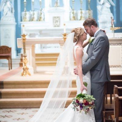 Wedding Photography Catholic Church