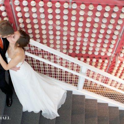 Reds Hall of Fame Wedding