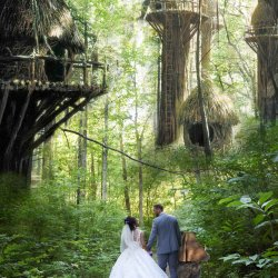 Return of the Jedi Star Wars Wedding Photo