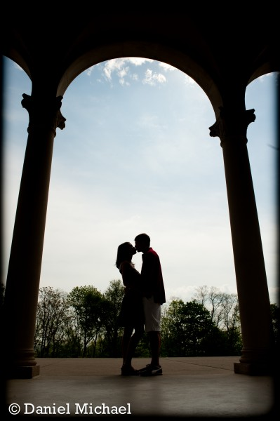 Ault Park Engagement Session Portraits