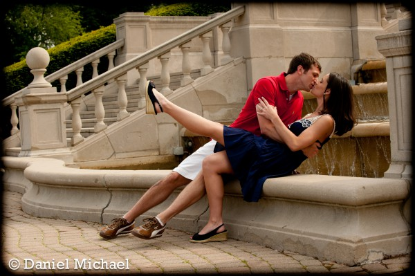 Ault Park Engagement Photography