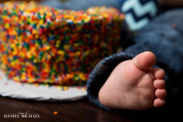 Infant Photography, Cincinnati Cake Smash, First Birthday