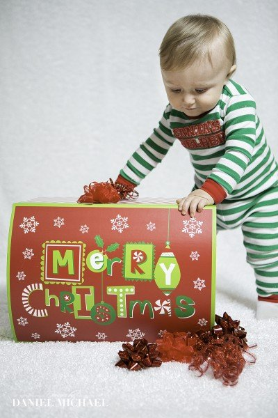 Children's Christmas Photographers CIncinnati Ohio