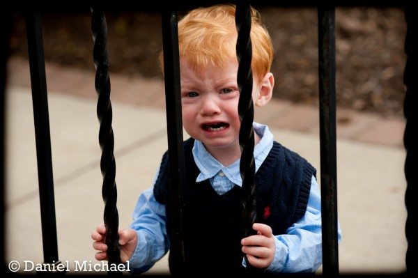 Crying Children\'s Portrait Cincinnati