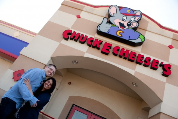 Destination Chuck E Cheese Engagement