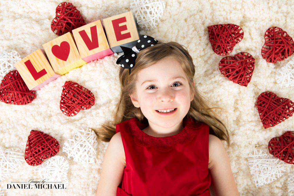 Valentine's Day Children's Photographers