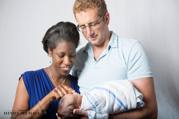 Newborn Family Session, Family Portraits, Infant Photography