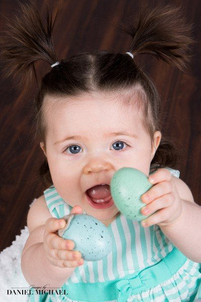 Portrait Photography, Baby Photographers, Easter Pictures